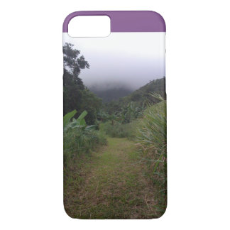 Hiking Into the St. Kitts Mist  Cell Phone Case