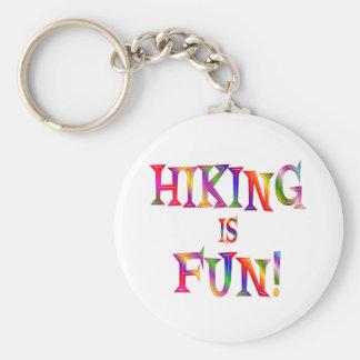 Hiking is Fun Keychains