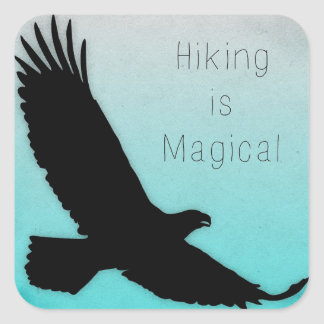 Hiking is Magical Bumper Sticker