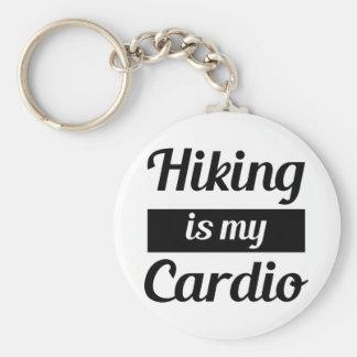 Hiking is My Cardio Key Ring