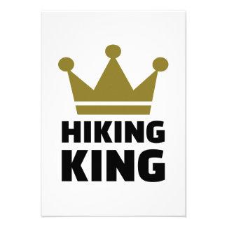 Hiking king invitations