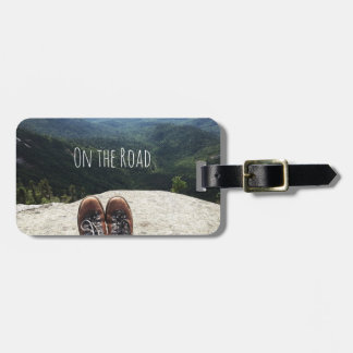 Hiking On Top of the World Luggage Tag IX