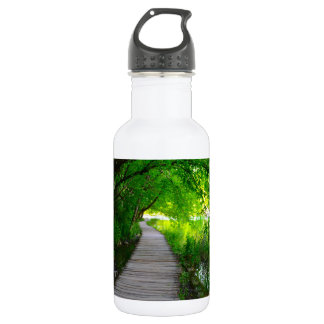 Hiking Path in Plitvice National Park in Croatia 532 Ml Water Bottle