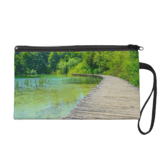 Hiking Path in Plitvice National Park in Croatia Wristlet