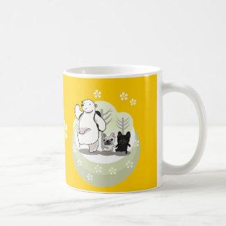 Hiking,polar bear and bull dogs mugs