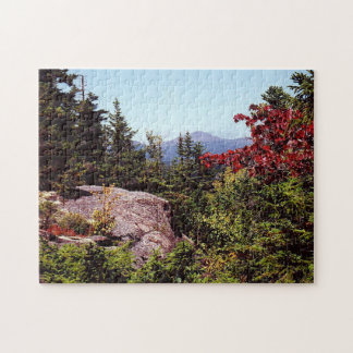 Hiking Scenic White Mountains New Hampshire Puzzle