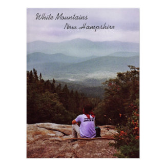 Hiking the Wilderness Poster