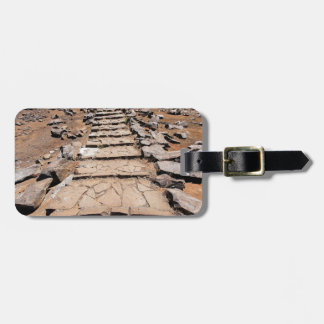 Hiking trail leading up the mountain on Madeira Luggage Tag