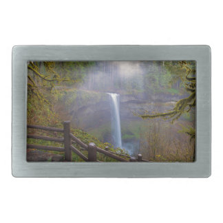 Hiking Trails at Silver Falls State Park Belt Buckle