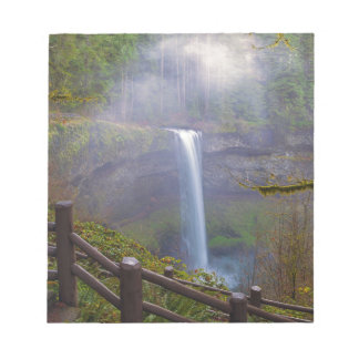 Hiking Trails at Silver Falls State Park Notepad
