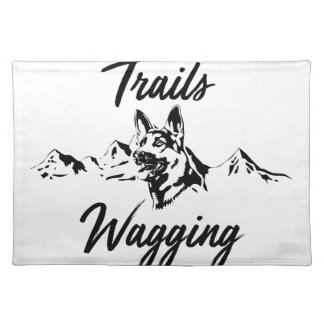 Hiking Trails Wagging Tails Placemat