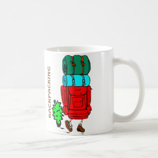 Hiking, Walking: Funny Backpacking Mug