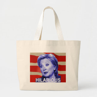 Hilarious 2016 jumbo tote bag