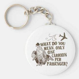 Hilarious Airline Joke Shirt Key Chains