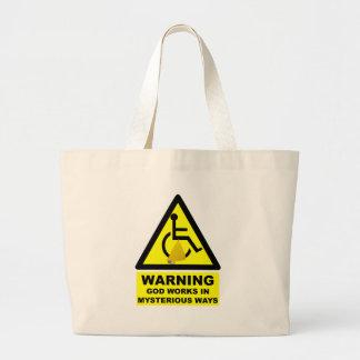 Hilarious atheist bags