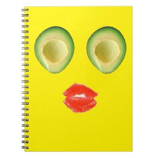 Hilarious Avocado Face 4Keith Notebook