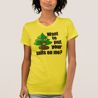 Hilarious Christmas Tree T-Shirt