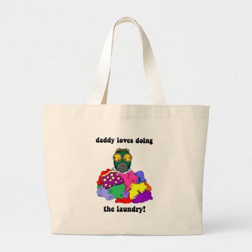 Hilarious dad canvas bag