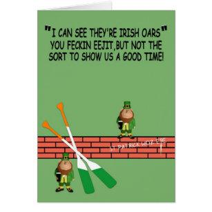 Irish birthday cards invitations zazzle hilarious irish birthday card m4hsunfo Gallery