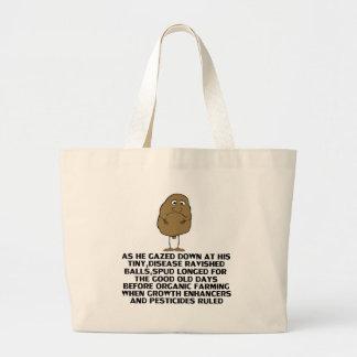 Hilarious joke canvas bag
