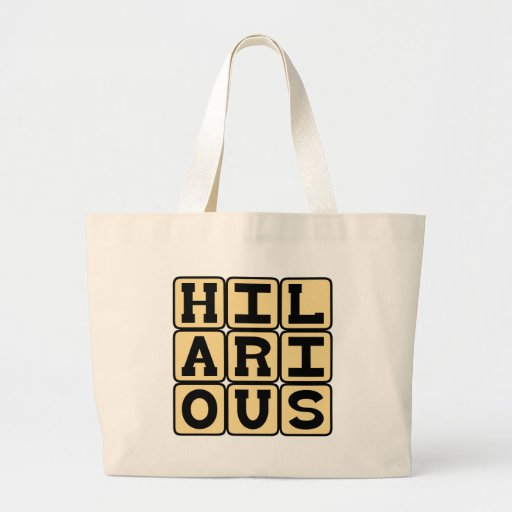 Hilarious, LMAO Canvas Bag