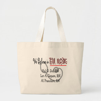 Hilarious Nurse T-Shirts and Gifts Canvas Bags