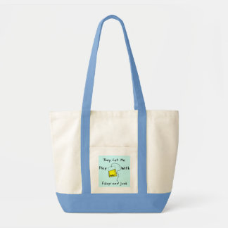 "Hilarious Nursing Student Gifts ""Foleys and Junk"" Impulse Tote Bag"