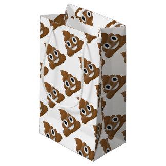 Hilarious poop-emoji - Poo cartoon design Small Gift Bag