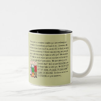 Hilarious Retirement Card--From The Gang! Two-Tone Coffee Mug