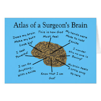 Hilarious Surgeon Gifts Card
