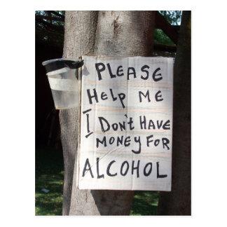 Hilarious Text Postcard