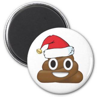 Hilarious Xmas Poop Emoji Magnet