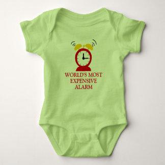 Hilariously Funny Alarm Clock Baby Bodysuit
