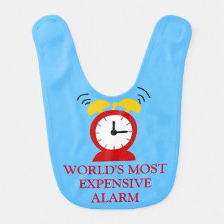 Hilariously Funny Alarm Clock Bib