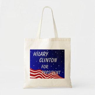 Hilary Clinton For President Night Sky Bags