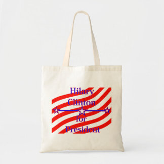 Hilary Clinton For President Strips With 3 Stars A Bag