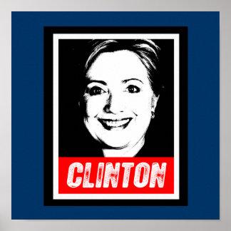 HILARY CLINTON STAMP 2016 PRINT