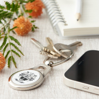 Hill Coat of Arms Key Ring