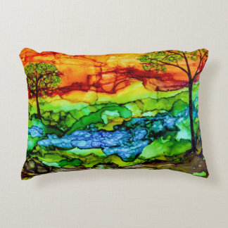 Hill Country Sunset Decorative Cushion