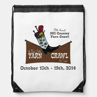 Hill Country Yarn Crawl Bag