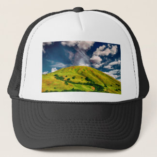 Hill countryside landscape nature trucker hat