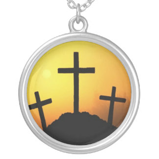 Hill Full of Crosses Necklace