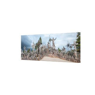 Hill of Crosses Canvas Prints