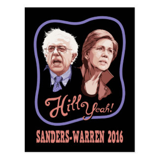 Hill Yeah! Sanders-Warren Postcard