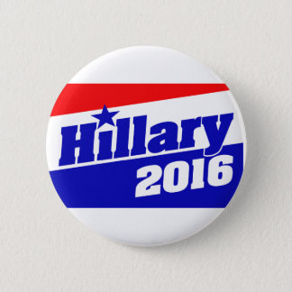 Hillary 2016 6 cm round badge