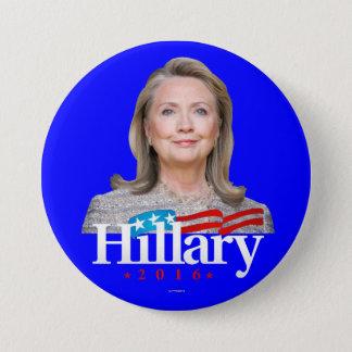 Hillary 2016 7.5 cm round badge