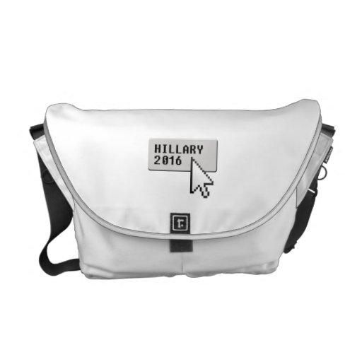 HILLARY 2016 CURSOR CLICK COURIER BAG