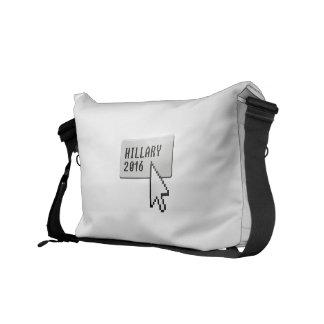 HILLARY 2016 CURSOR CLICK MESSENGER BAG