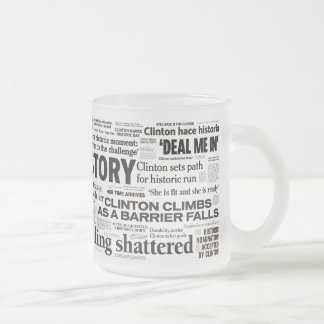 Hillary 2016 Historic Headline Mug