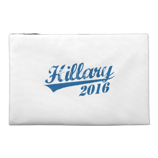 HILLARY 2016 JERSEY TRAVEL ACCESSORY BAGS